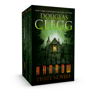 Harrow: Three Novels, including Nightmare House, Mischief, and The Infinite.