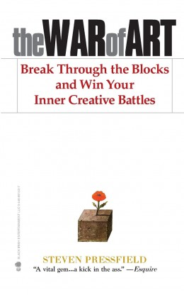 The War of Art: Break Through the Blocks and Win Your Inner Creative Battles by Steven Pressfield -- Douglas Clegg recommends this to writers.