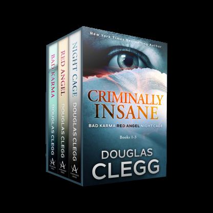 Read the 3-Book Box Set Criminally Insane series: Bad Karma, Red Angel, Night Cage