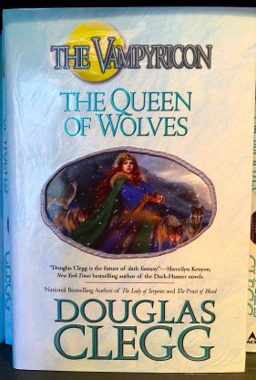 The Queen of Wolves, Book 3 of the Vampyricon Trilogy