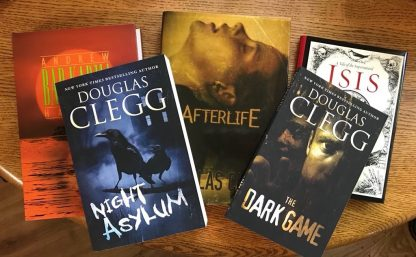 Scroll down to get signed deluxe editions, trade hardcovers, and trade paperbacks from the author.