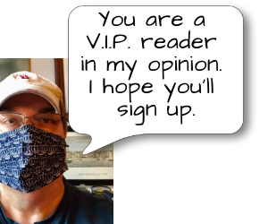 I hope you'll sign up for my newsletter. — Douglas Clegg